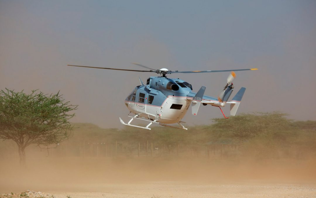 An Areal Photography and Video Shoot in West Africa