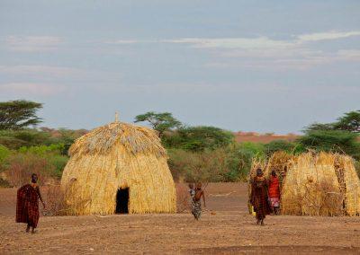 Turkana Kenya Huts