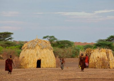 Turkana Kenya Huts women