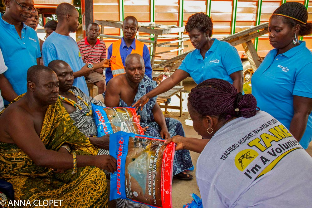 CSR Tribal Chiefs, mosquito nets
