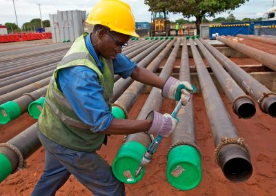 Pipes Mozambique Pipeyard