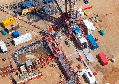 Oil rig installation Kenya