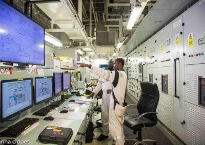 Control Room OIl Screens
