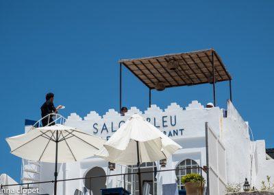 Tangier Morocco Café Bleu