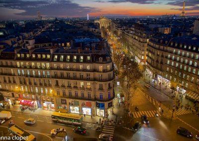 Paris Landscape Dusk