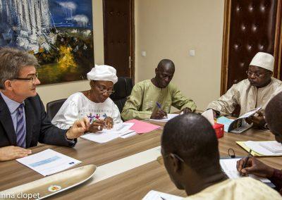 meeting office africa people