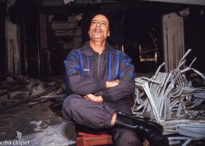Ghaddafi bombed-house