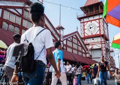Guyana#market#clock-tower