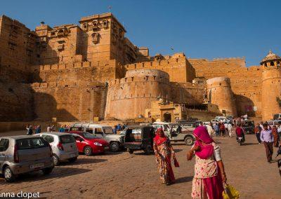 Jaisalmer#India#walls#people