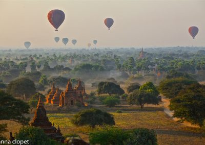 Bagan#Baloons#dawn