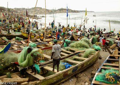 Cape-Coast#Ghana#fishing#boats